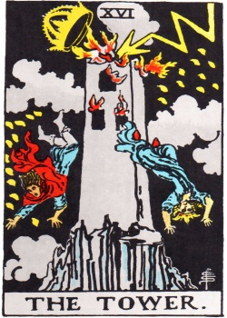 Hermit Tarot Card Freemason's Deck