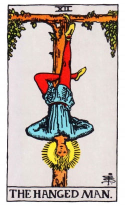 Hanged Man Tarot Card Freemason's Deck