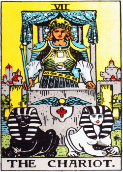 Chariot Tarot Card Freemason's Deck