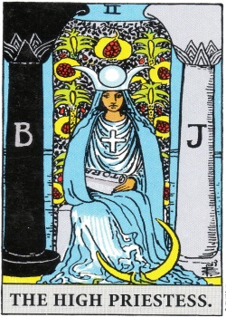 High Priestess Tarot Card Freemason's Deck