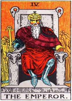 Emperor Tarot Card Freemason's Deck